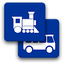 Train and Bus in Latvia logo