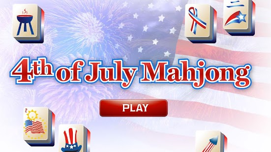4th of July Mahjong