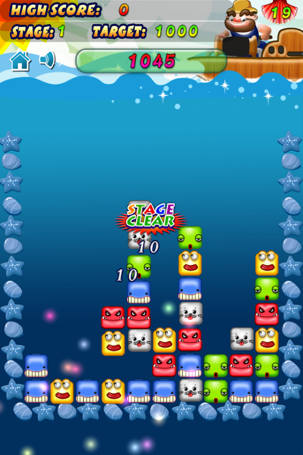 PopFish - PopStar Free! - screenshot