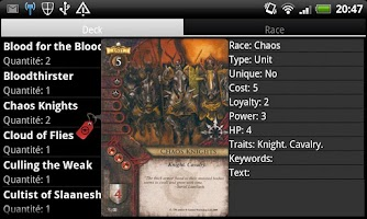 Screenshot of DroidVirtualTable