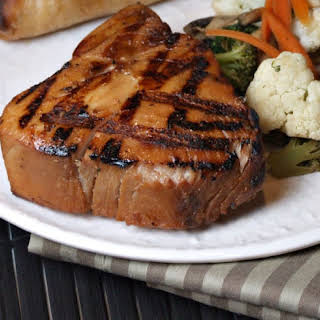 Maple- Soy Grilled Tuna.