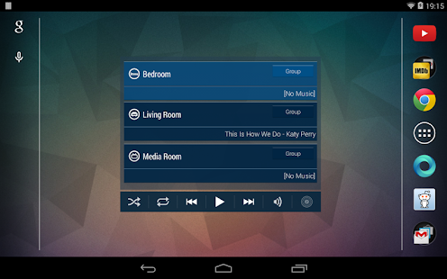Sonos Widget - screenshot thumbnail