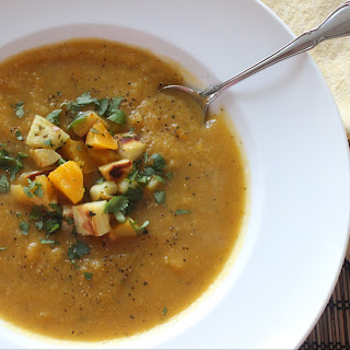 Roasted Butternut Squash & Parsnip Soup