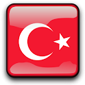Turkey Flag Clock Widget