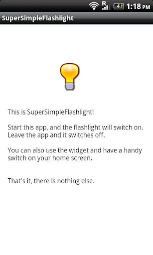 Super Simple Flashlight