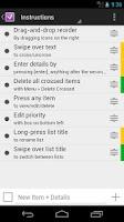 Screenshot of noodles free - To Do List