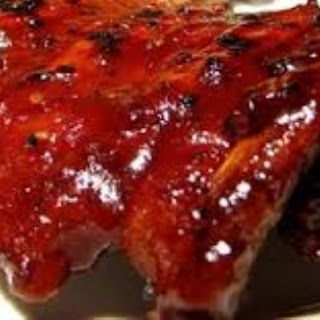 Crock Pot Barbecue Ribs.