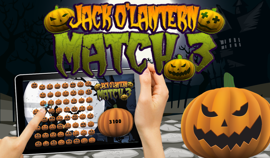 Halloween Pumpkin Match 3 Game - screenshot