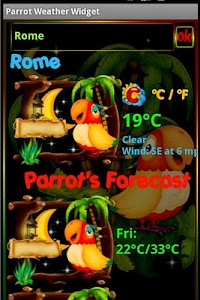 Parrot Weather Widget screenshot 3