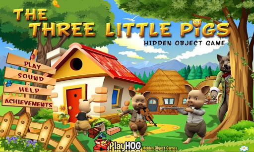 Three Little Pig Hidden Object