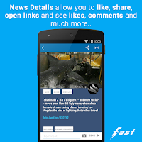 Screenshot of Fast Pro (Client for Facebook)