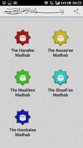 Islamic Madhabs
