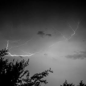 Lighting Strike by Steve Bales - Landscapes Weather