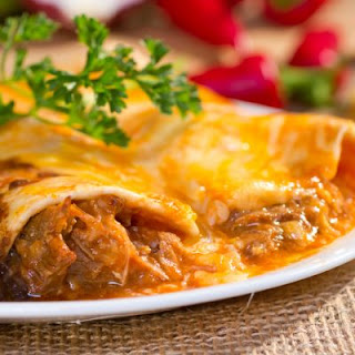 Chicken Enchiladas Crockpot