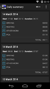 TruckerTimer - screenshot thumbnail