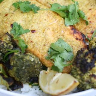 Tandoori-style Charred Salmon and Vegetables