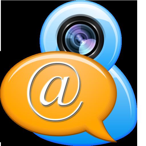 在線聊天與視頻 LOGO-APP點子