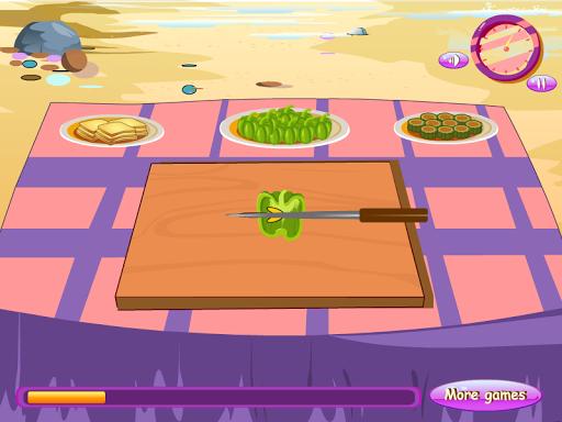 燒烤烹飪遊戲