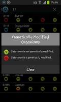 Screenshot of E Numbers/Food Additives