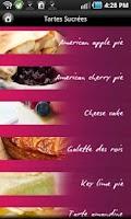 Screenshot of iCuisine Tartes et Quiches