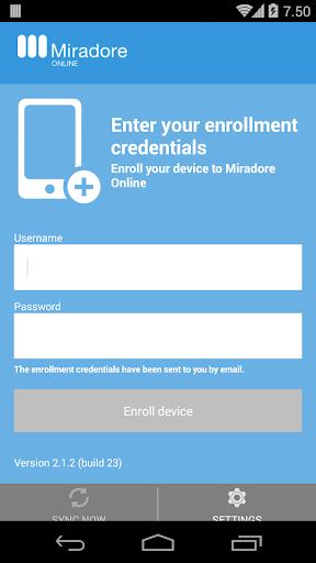 Miradore Online client
