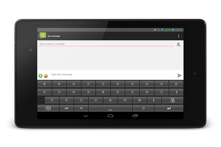 android TypeDroid Pro with Keyboard Screenshot 5
