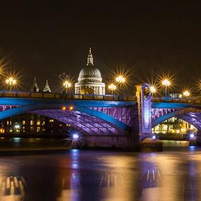 Blackfriars bridge London by Steve Trigger - Buildings & Architecture Bridges & Suspended Structures