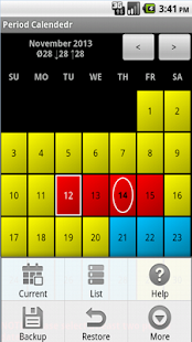 Period and Ovulation Tracker - screenshot thumbnail