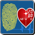 Fingerprint Blood Pressure icon