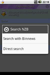 Download SABnzbd Client APK latest version 1 4 17 for android devices