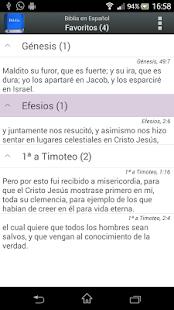 Biblia en Español Reina Valera - screenshot thumbnail