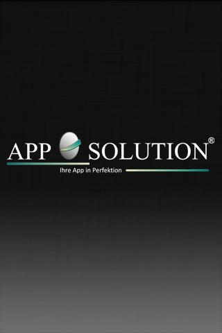 App Solution - screenshot