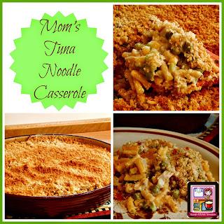 Mom's Tuna Noodle Casserole