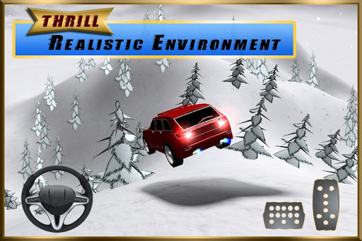 SUV Snow Hill Climb Simulator