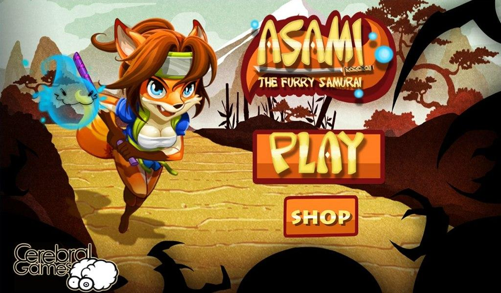 Asami: The Furry Samurai- screenshot