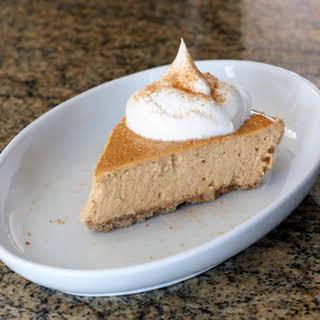 Sweet Potato Cheesecake Pie.