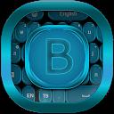 Blue Fancy GO Keyboard mobile app icon