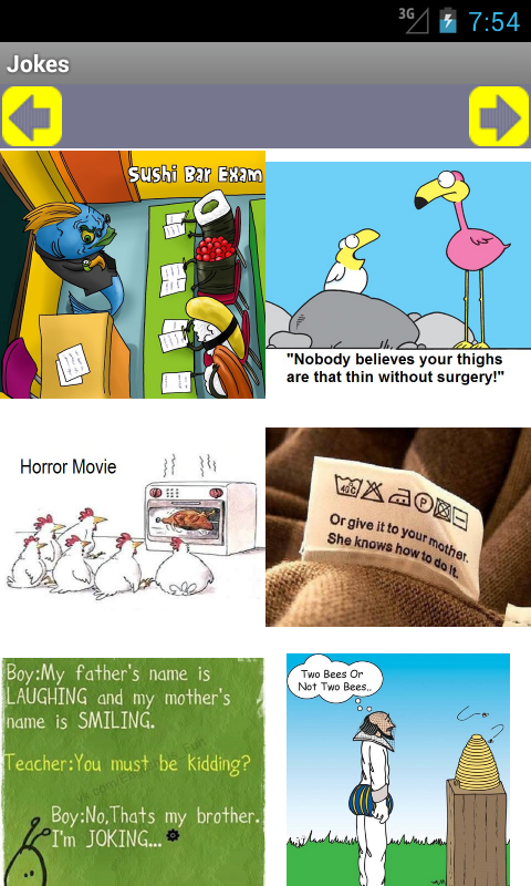 Cartoon Jokes - screenshot