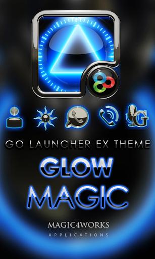 GO Launcher Theme Glow Magic