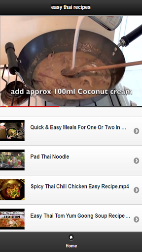 Easy thai recipes