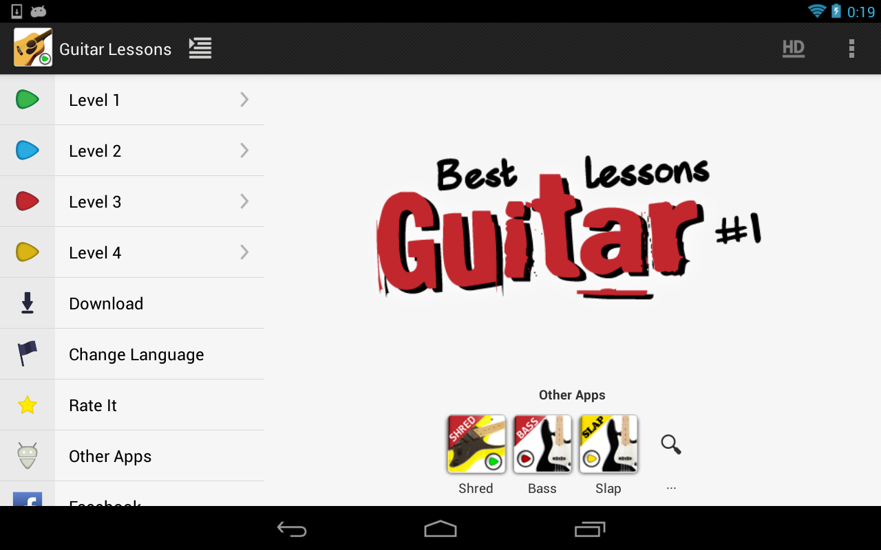 Guitar Lessons Beginners LITE- screenshot