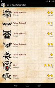 如何绘制:纹身部落