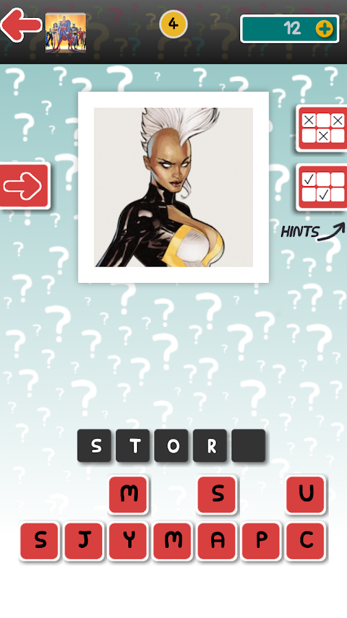 Guess The Character  SuperHero - screenshot