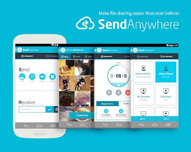 Send Anywhere File Transfer