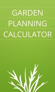Garden Planting Calculator - screenshot thumbnail
