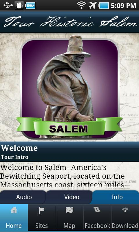 Tour Historic Salem- screenshot