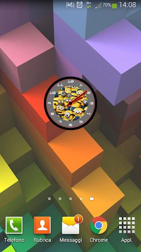 Minion Clock