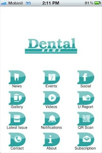 Dental News - screenshot thumbnail