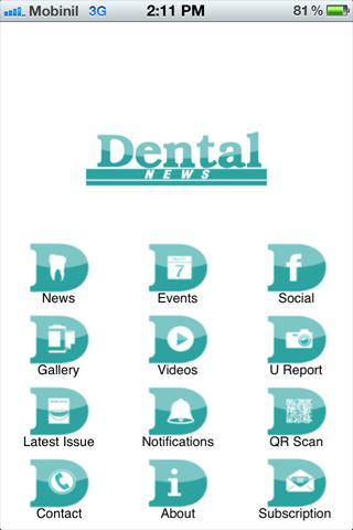 Dental News - screenshot