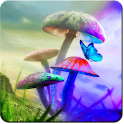 Magic Mushrooms Live Wallpaper logo